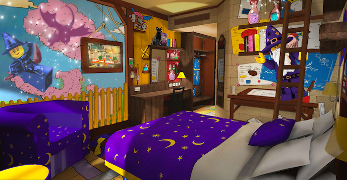 Legoland Castle Hotel Wizard bedroom