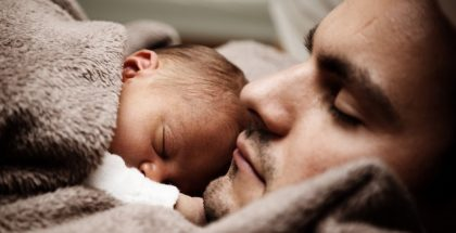 Shared Parental Leave Father and Baby