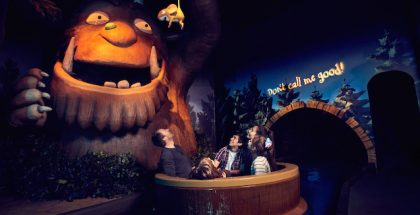 The Gruffalo River Ride Adventure Chessington World of Adventures Resort