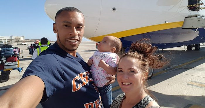 Fuerteventura 2017 Baby on holiday