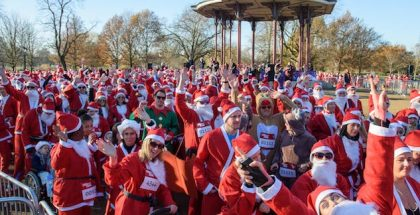GOSH London Santa Dash - Clapham Common