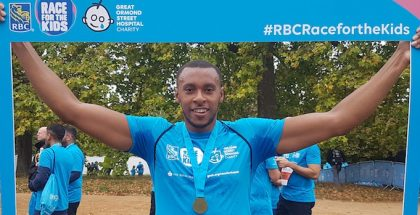 RBC Race for the kids GOSH Great Ormond Street Hospital