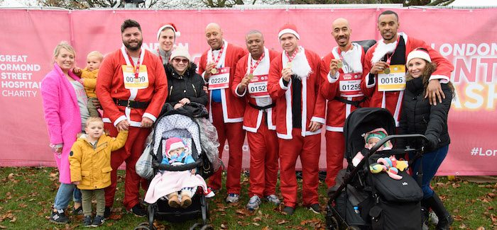 2017 London Santa_Dash Great Ormond Street Hospital Fatherhood of Christmas.254
