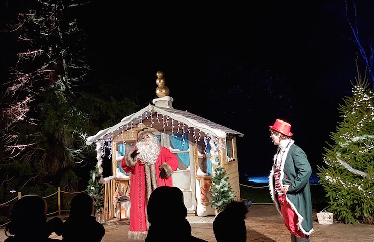 Christmas at Blenheim – Father Christmas Santa Claus