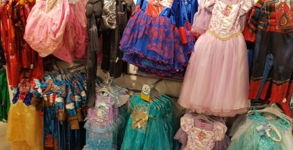 Matalan fancy dress display
