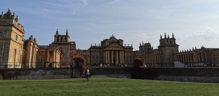 Finally took my mum to Blenheim Palace – seven months later than planned (because 2020)